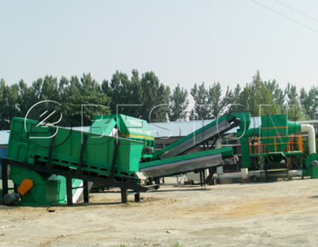 Beston municipal solid waste recycling plant for sale