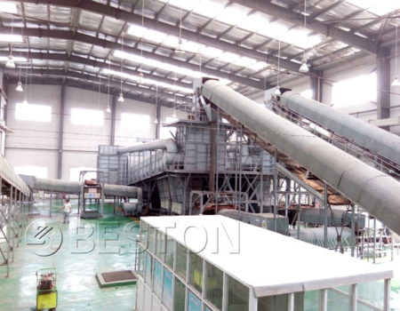 garbage recycling sorting equipment