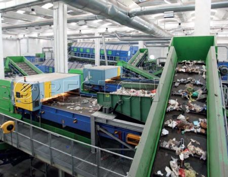 Garbage Sorting Recycling Facility