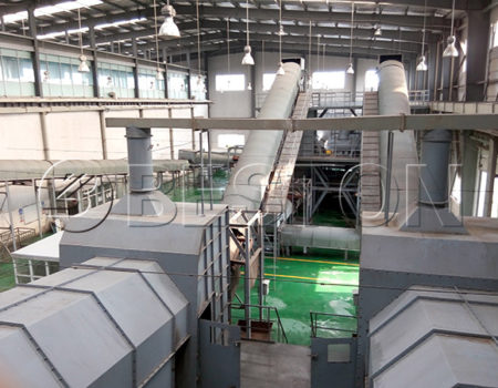 Solid Waste Separation Machine