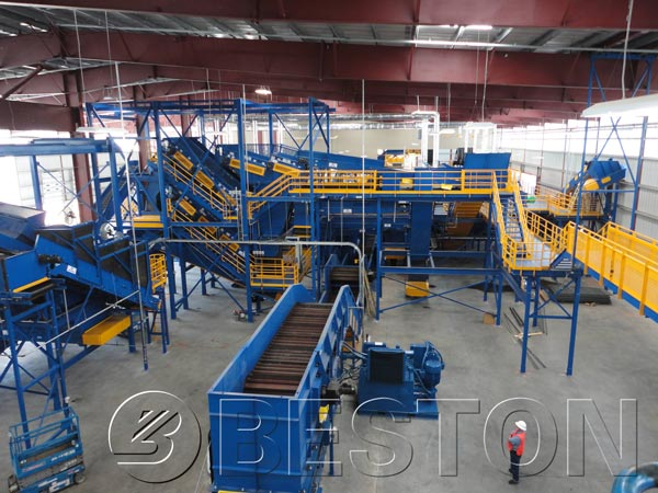 Waste-to-Energy Processing Sorting Plant