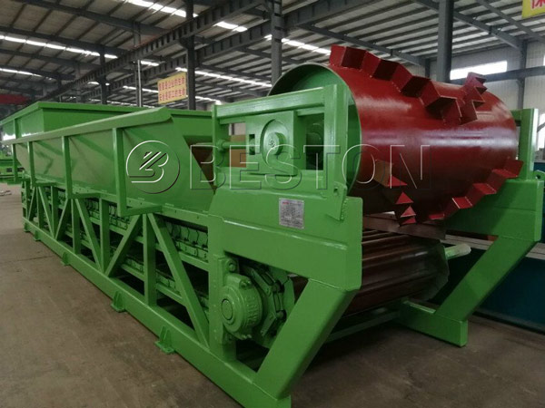 components of waste sorting equipment