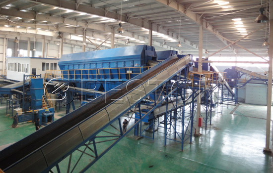 Beston Garbage Machine with High Efficiency