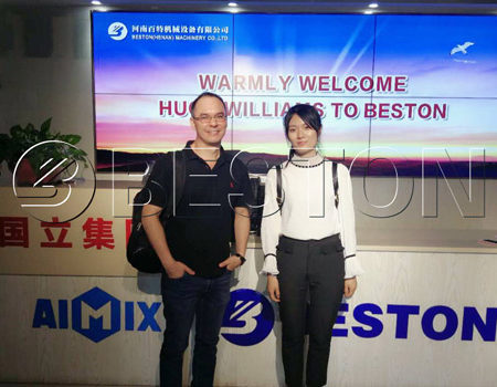 Panama Partner Visited Beston Machinery Headquarters on July, 2018