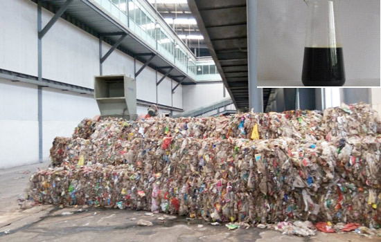 Waste Plastic Sorted by Solid Waste Management System