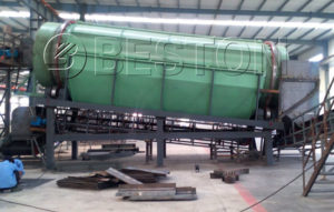 Beston Municipal Solid Waste Treatment Plant with Latest Design