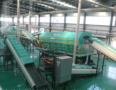 Beston Garbage Recycling Machine for Sale with High Quality