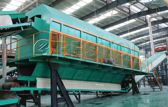 Beston Garbage Treatment Plant with Smoothly Conveying System