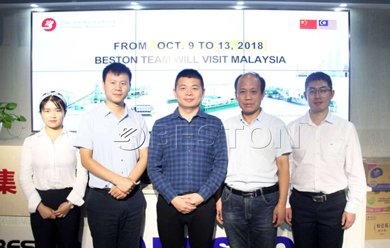 Visit of Beston Machinery to Malaysia in October, 2018
