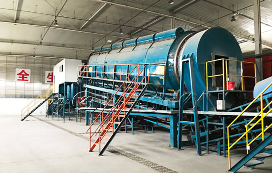 Beston Waste Sorting Machine Project