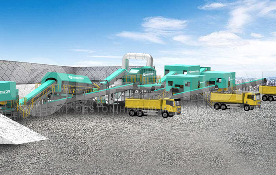 Beston Garbage Sorting Equipment for Sale