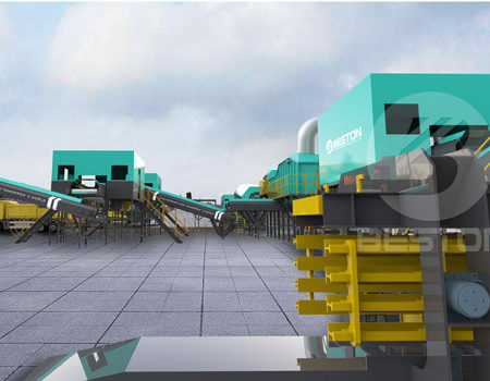 Beston Garbage Sorting Machine for Sale-3D Model