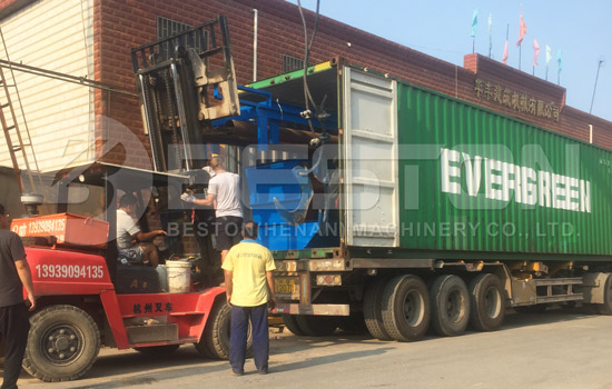 Automatic sorting machine was shipped to Hungary