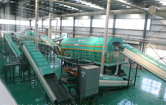 Beston Garbage Recycling Machine with Environment-friendly Process