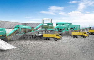 Beston Material Recovery Facilitys with High Efficiency