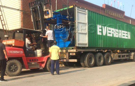 Garbage sorting plant was shipped to Hungary