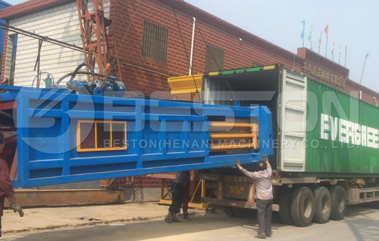 Shipment of automatic sorting plant to Hungary