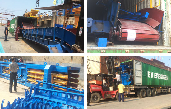 Solid waste equipment shipment to Hungary