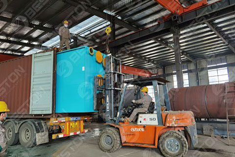 Delivery of Tyre Pyrolysis Equipment to Saudi Arabia
